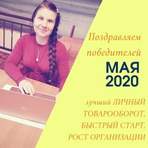 результаты команды Елены Леднёвой май 2020